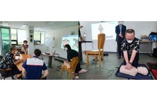 발달장애인 주간활동센터 심폐소생술(CPR) 교육